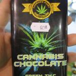 CANNABIS CHOCOLATE, GREEN T.H.C.