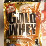 WEIDER DELICIOUS GOLD WHEY