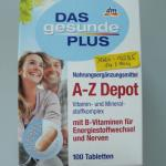 dm DAS gesunde PLUS A-Z MULTISPEKTRUM TABLETY S LUTEINEM